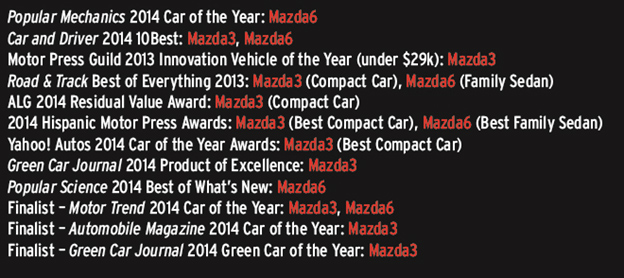 A Big Year Of Big Rewards For Mazda And Mazda Cavalier - Mazda rewards